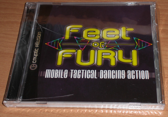 Feet of Fury - Sega Dreamcast