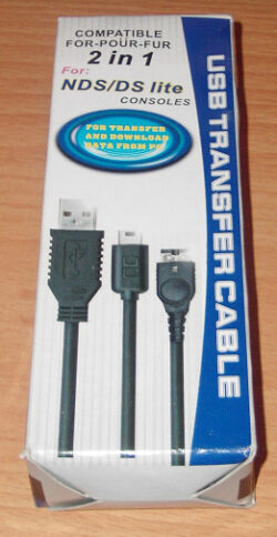 USB Charger Cable for DS Lite and Original DS
