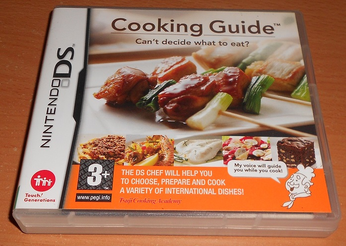 Cooking Guide - Can't Decide What To Eat? - Nintendo DS