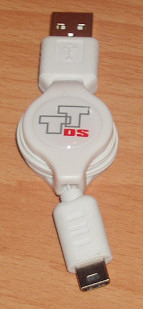 Retractable DS Lite USB Charging Cable