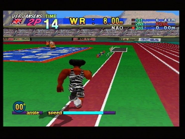 Athlete Kings (Sega Saturn) Screenshots (4)