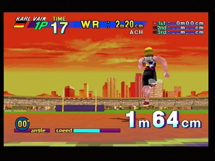 Athlete Kings (Sega Saturn) Screenshots (8)