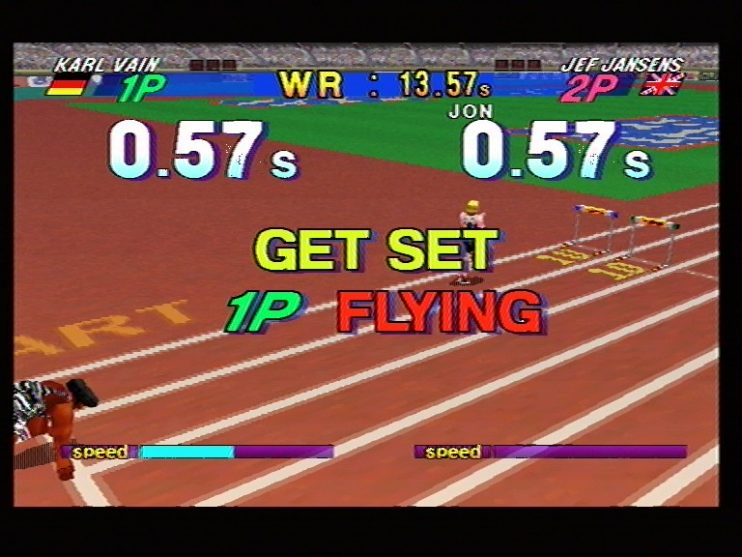 Athlete Kings (Sega Saturn) Screenshots (9)