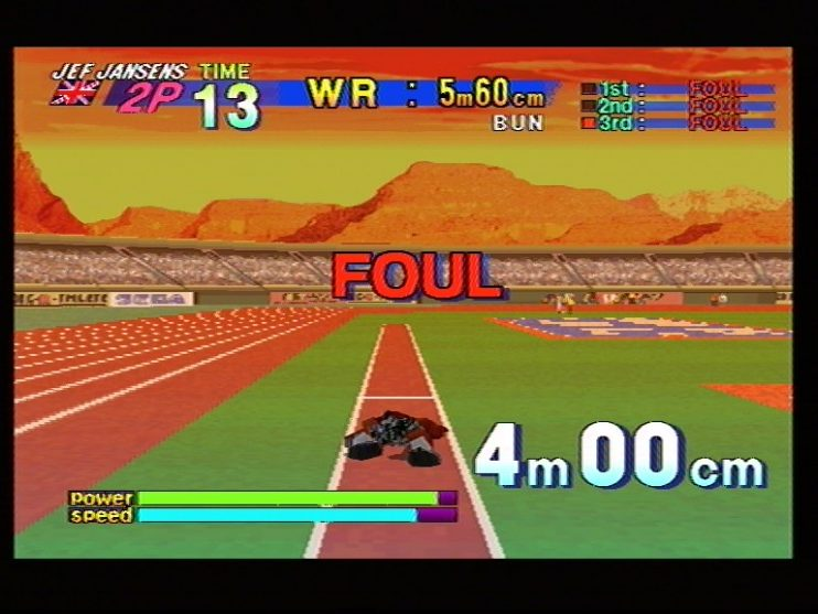 Athlete Kings (Sega Saturn) Screenshots (11)