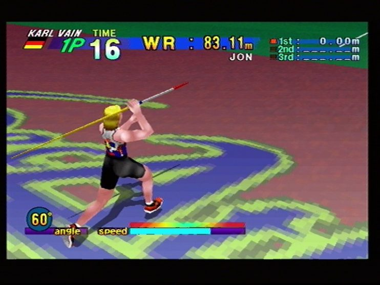 Athlete Kings (Sega Saturn) Screenshots (12)