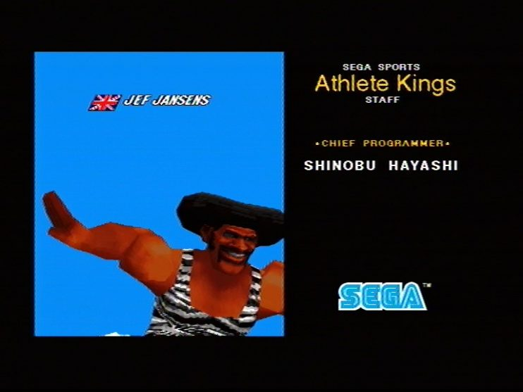 Athlete Kings (Sega Saturn) Screenshots (15)