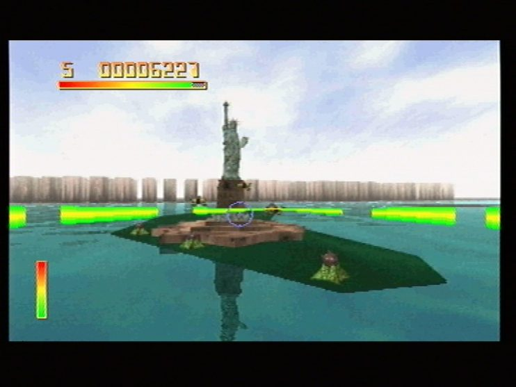 Chaos Control (Sega Saturn) Screenshots (4)