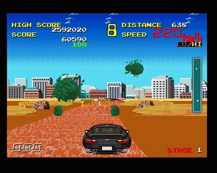 Chase HQ Plus SCI (Sega Saturn) Screenshots (5)