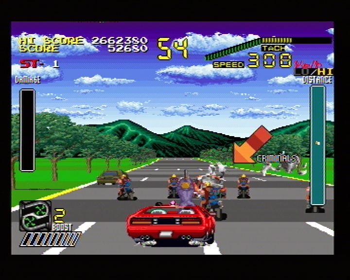 Chase HQ Plus SCI (Sega Saturn) Screenshots (15)