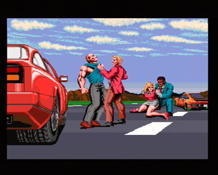 Chase HQ Plus SCI (Sega Saturn) Screenshots (17)