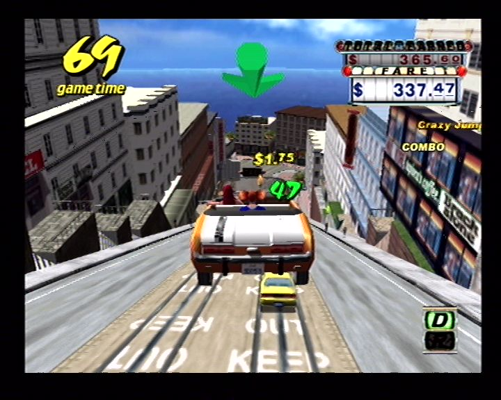 Crazy Taxi (Dreamcast) Screenshots (8)