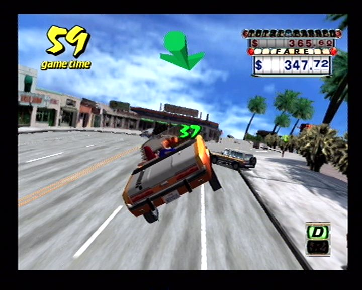 Crazy Taxi (Dreamcast) Screenshots (9)