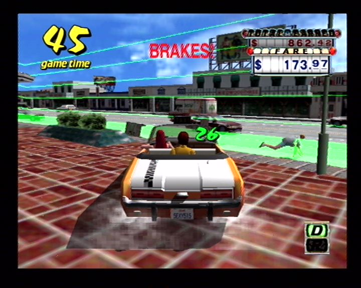 Crazy Taxi (Dreamcast) Screenshots (10)