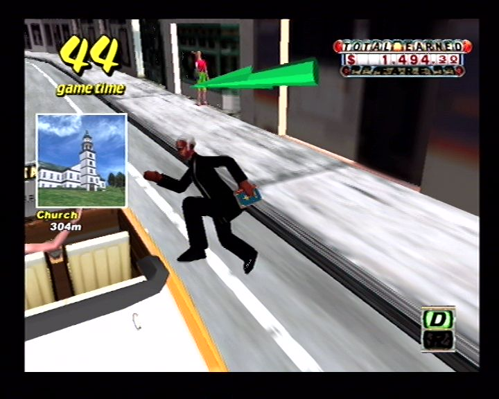 Crazy Taxi (Dreamcast) Screenshots (13)