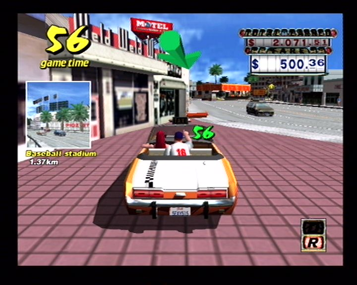 Crazy Taxi (Dreamcast) Screenshots (16)