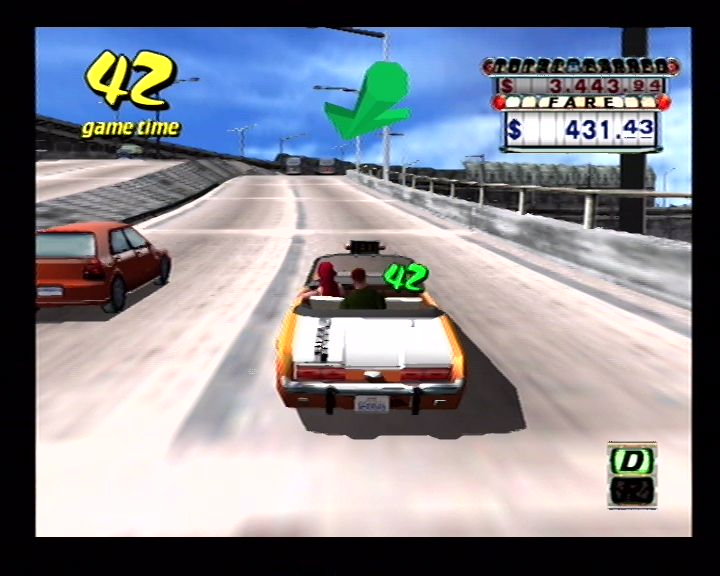 Crazy Taxi (Dreamcast) Screenshots (20)