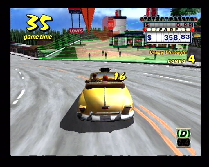 Crazy Taxi (Dreamcast) Screenshots (34)