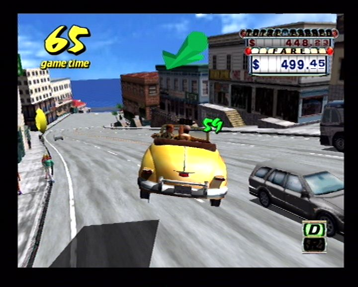 Crazy Taxi (Dreamcast) Screenshots (35)