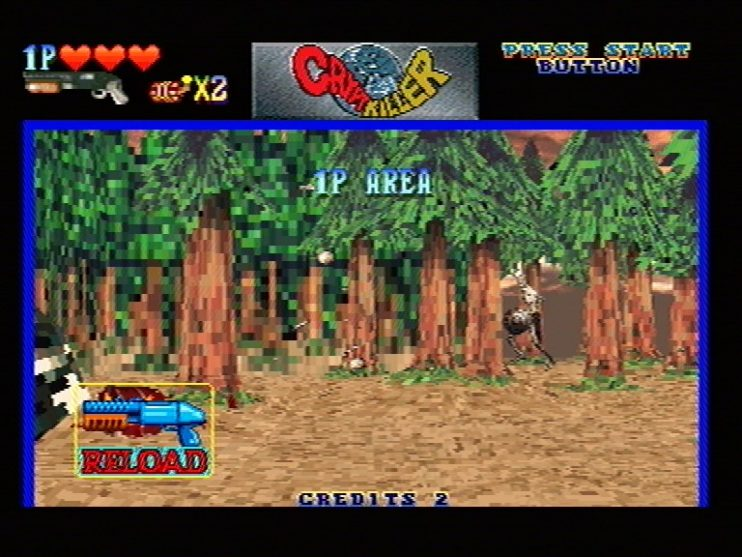 Crypt Killer (Sega Saturn) Screenshots (4)