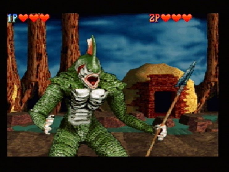 Crypt Killer (Sega Saturn) Screenshots (5)