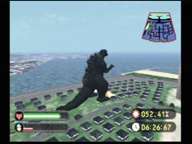 Godzilla Generations (Dreamcast) Screenshots (3)