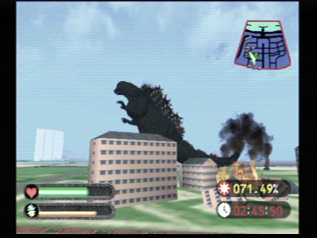 Godzilla Generations (Dreamcast) Screenshots (5)