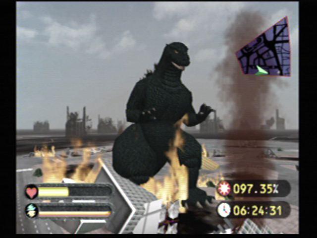 Godzilla Generations (Dreamcast) Screenshots (11)