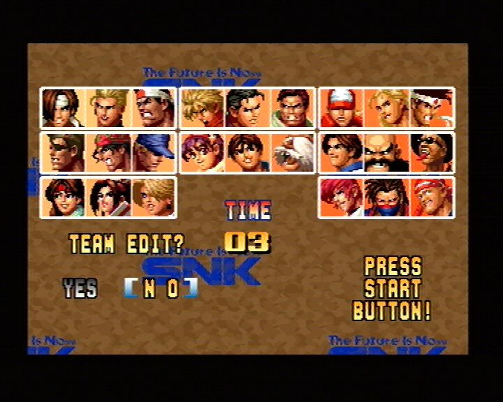 King Of Fighters 95 (Saturn) Screenshots (2)