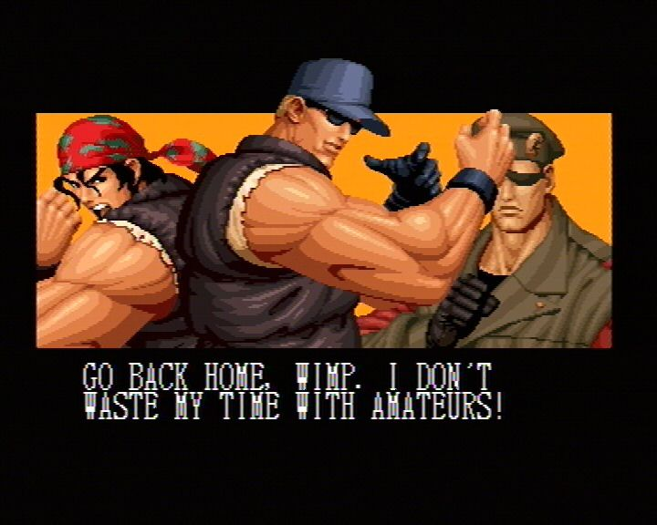 King Of Fighters 95 (Saturn) Screenshots (4)
