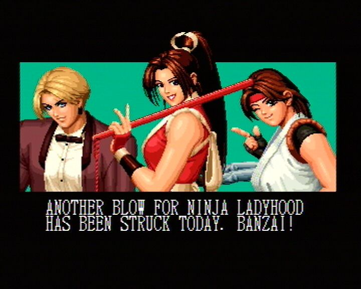 King Of Fighters 95 (Saturn) Screenshots (6)
