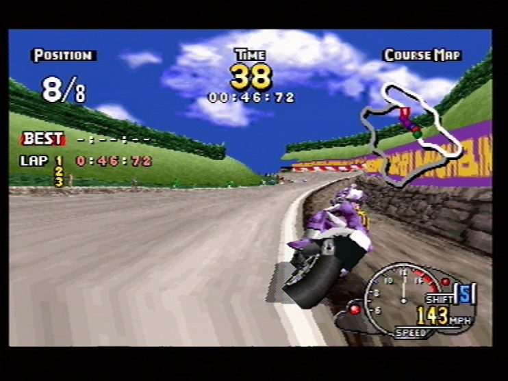 Manx TT Superbike (Saturn) Screenshots (6)