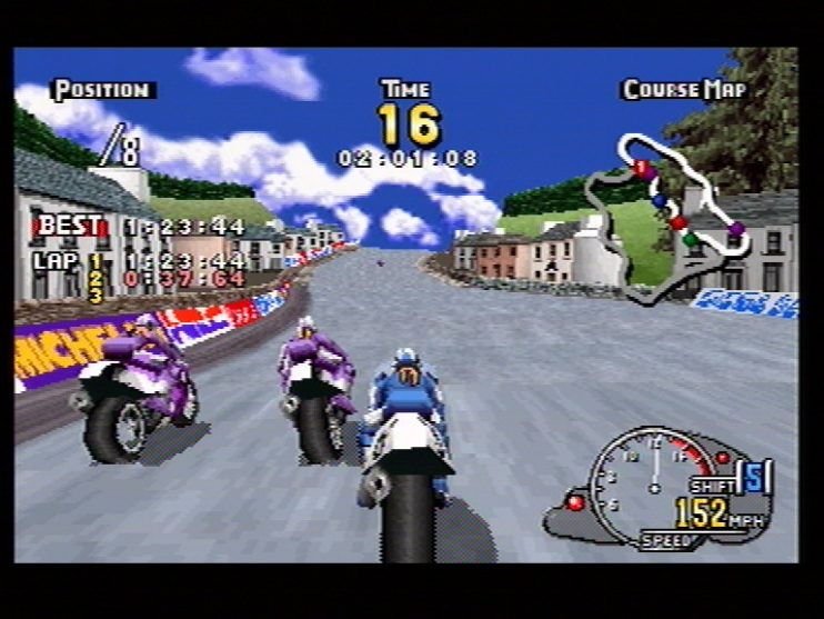 Manx TT Superbike (Saturn) Screenshots (8)