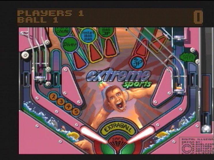 Pinball Illusions (CD32) Screenshots (5)