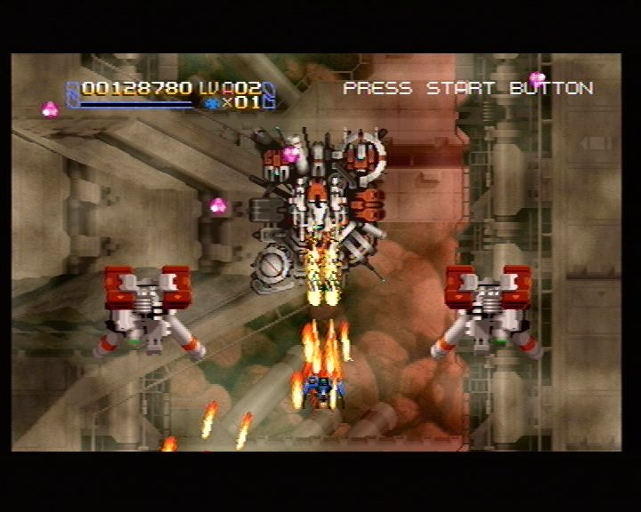 Radiant Silvergun (Saturn) Screenshots (6)