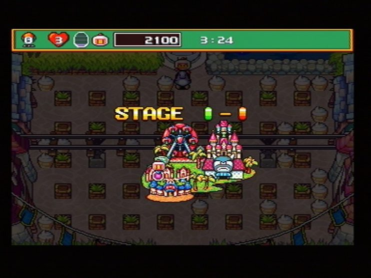 Saturn Bomberman Screenshots (9)