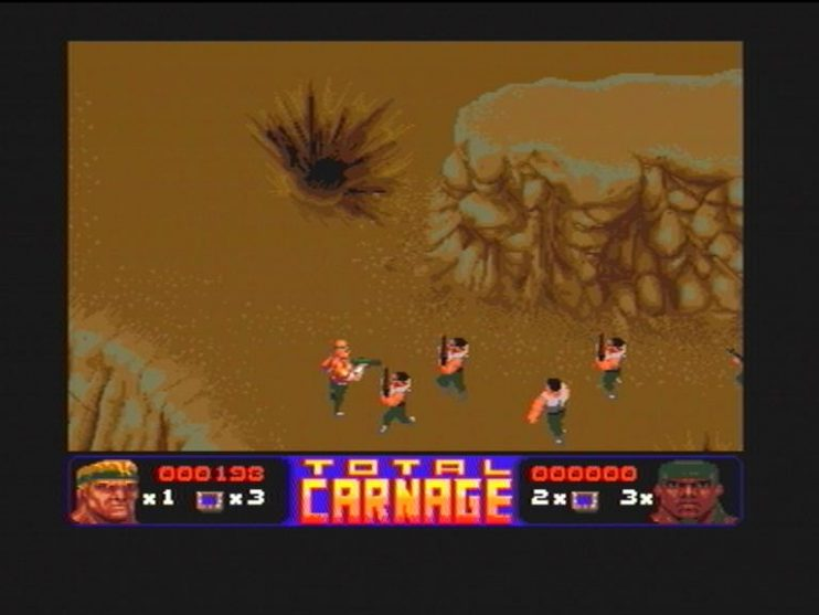 Total Carnage (CD32) Screenshots (2)