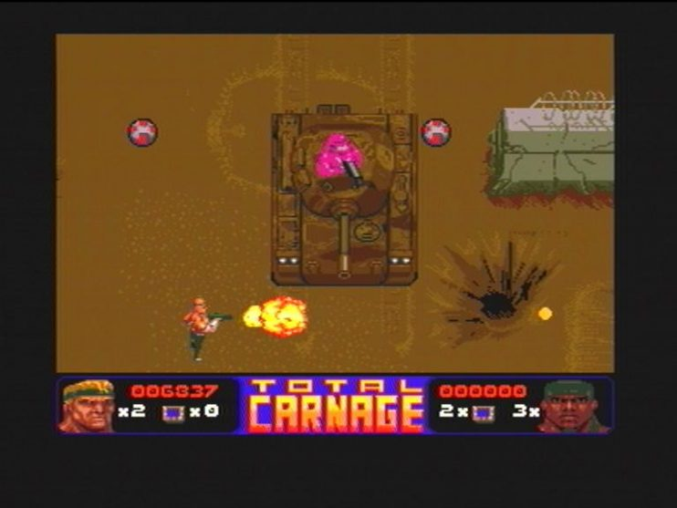 Total Carnage (CD32) Screenshots (4)