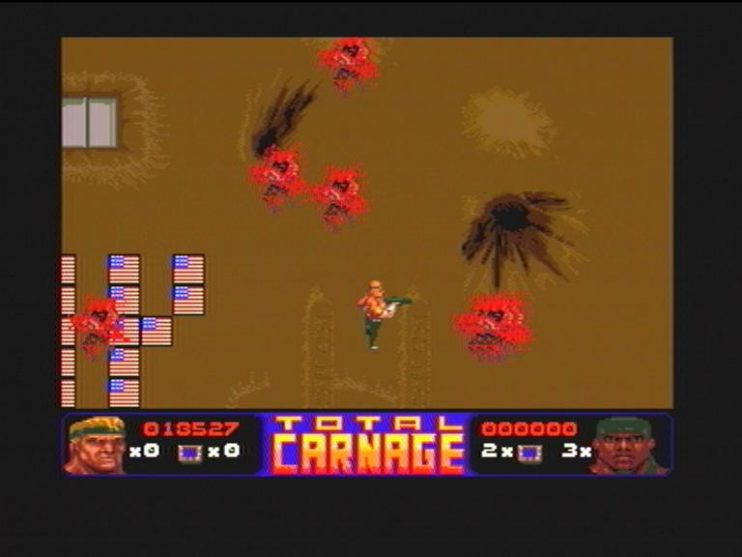 Total Carnage (CD32) Screenshots (5)