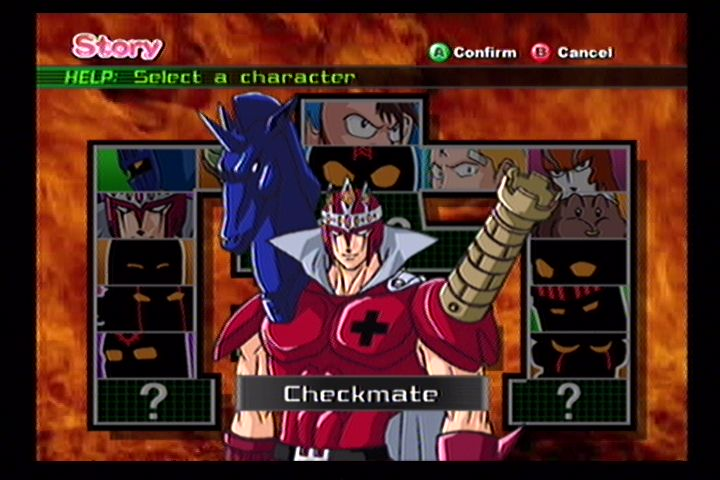 Ultimate Muscle (Gamecube) Screenshots (3)