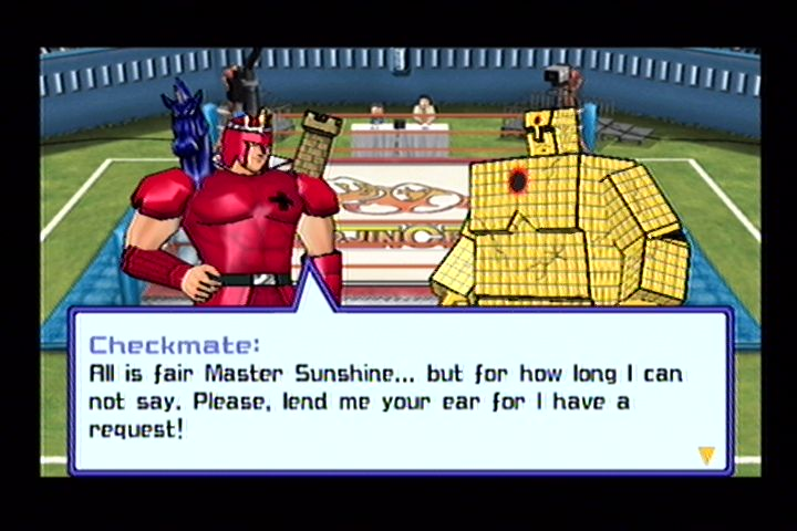 Ultimate Muscle (Gamecube) Screenshots (4)