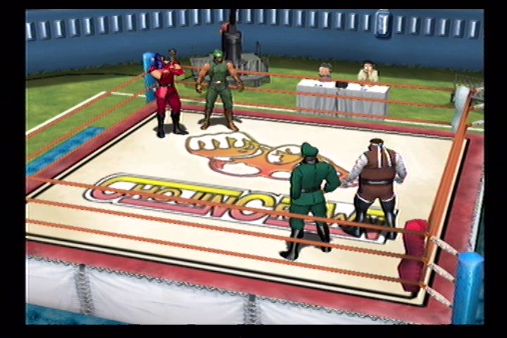 Ultimate Muscle (Gamecube) Screenshots (5)