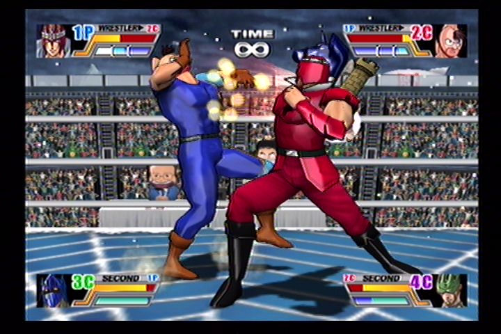 Ultimate Muscle (Gamecube) Screenshots (19)