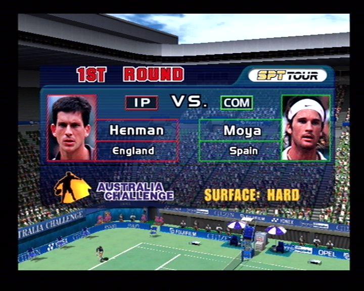 Virtua Tennis (Dreamcast) Screenshots (3)