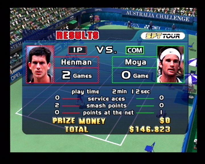 Virtua Tennis (Dreamcast) Screenshots (10)