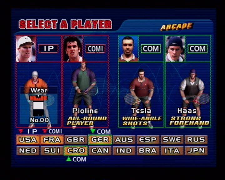 Virtua Tennis (Dreamcast) Screenshots (20)