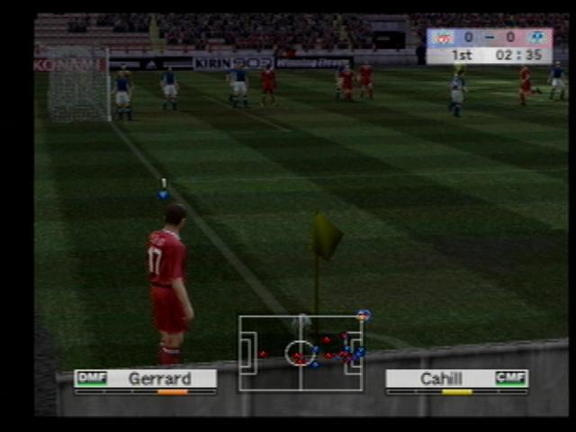 Winning Eleven 8 (Japanese PS2) Screenshots (4)