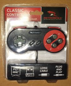 Retrospex Classic Controller - SNES Style