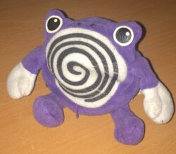 Pokemon Poliwhirl Plush