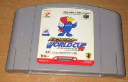 Jikkyou World Soccer World Cup France '98