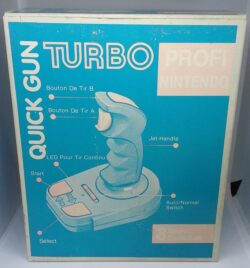 Quick Gun Turbo NES Joystick - Faded